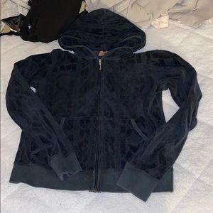 Juicy couture hoodie black design